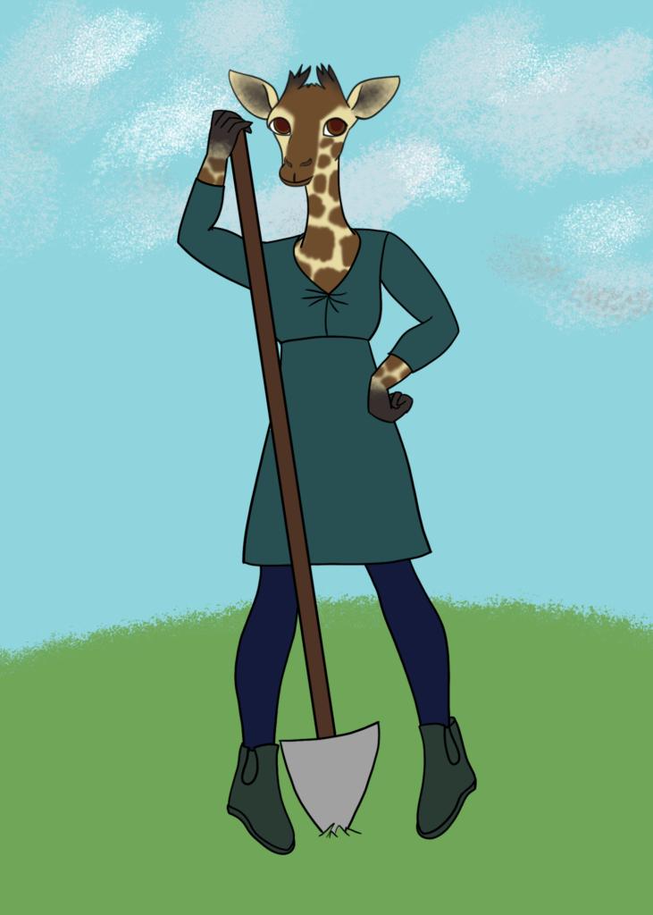 My Mom as a Giraffe